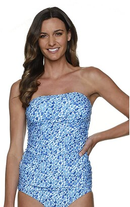 Helen Jon Bel Air Bandini (Blue/Navy) Women's Swimwear
