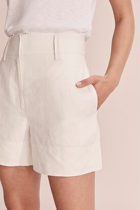 Country Road Organically Grown Linen Wide Leg Short