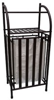 Threshold Metal Hamper with Linen Insert - Oil Rubbed Bronze