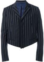 Haider Ackermann cropped striped blazer