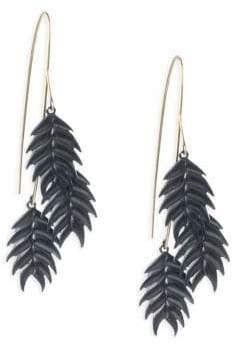 Annette Ferdinandsen Organic Wild Oat Cluster Earrings