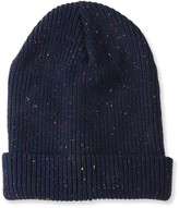 Ribbed Cuffed Speckle Beanie
