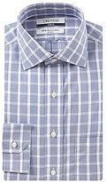 Daniel Cremieux Non-Iron Slim-Fit Spread-Collar Plaid Dress Shirt