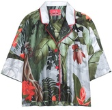 For Restless Sleepers Printed silk blouse