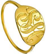 Ariel Gordon Slim Gold Signet Ring