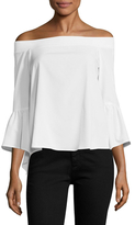 Lucca Couture Parker Off-Shoulder Blouse