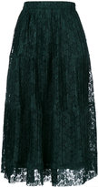 See by Chloe pleated skirt - women - Polyester/Viscose - 38