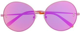 Stella Mccartney Kids Round Frame Gradient Sunglasses