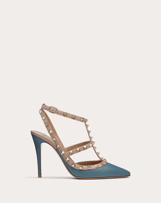 Valentino Garavani Rockstud Calfskin Ankle Strap Pump 100 Mm Women Amadeus Calfskin 100% 37