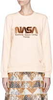 Coach NASA logo patch sweatshirt