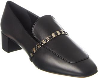 Salvatore Ferragamo Vara Chain Leather Loafer