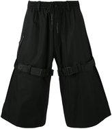 Y-3 wide-leg shorts - men - Cotton - S