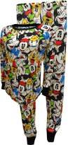 Disney Mickey Mouse And Friends Thermal Knit Pajama Set for women