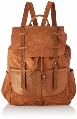 Mila Louise Women's 3014VCG Backpack Handbag Brown brown (Camel)