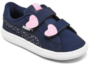 Puma Toddler Girls Smash V2 Candy Casual Sneakers from Finish Line