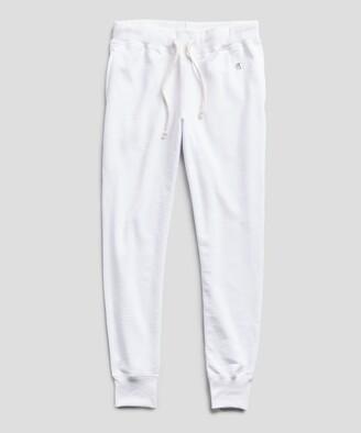 Lightweight Slim Jogger Sweatpant in White