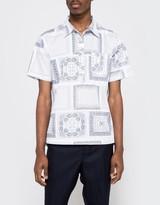 Creep by Hiroshi Awai Printed Cotton Pop-Over Shirt
