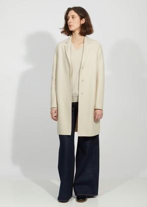 Harris Wharf Bi-Color Cocoon Coat