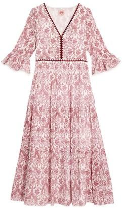 Le Sirenuse Positano Printed Bella Dress