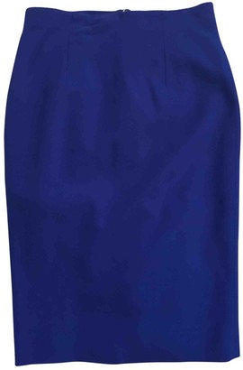 Alexander McQueen Blue Skirt for Women