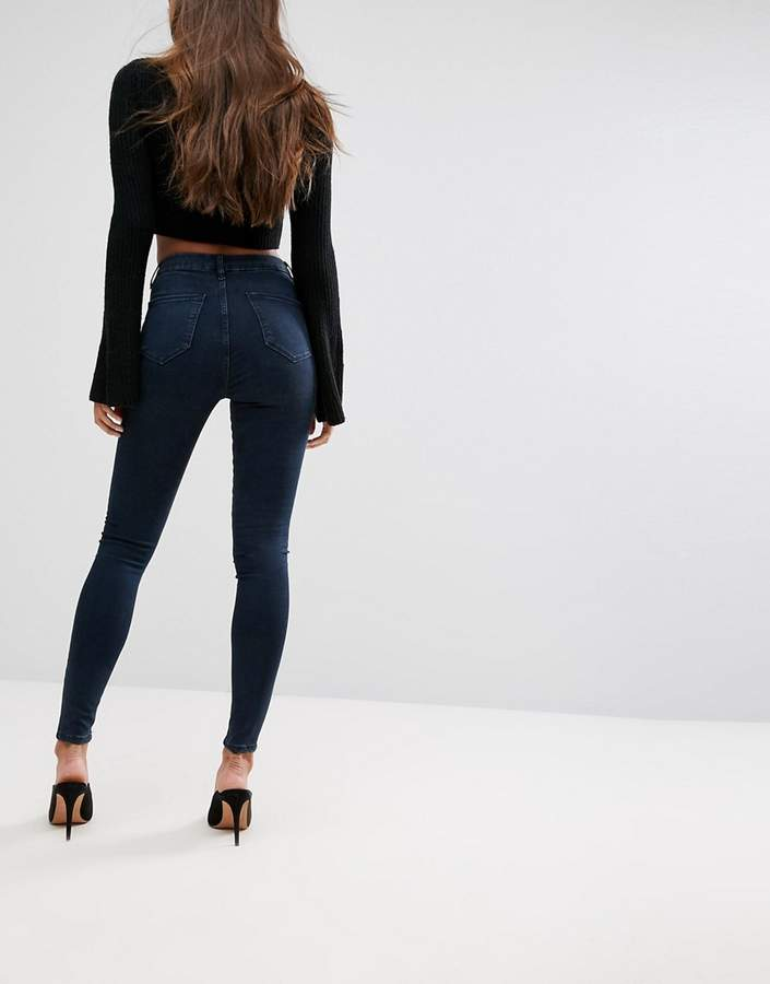 Asos 'SCULPT ME' Premium Jeans in Grace Dark Wash