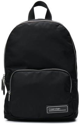 Calvin Klein Logo Patch Backpack