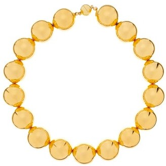 Sophie Buhai Perriand Beaded 18kt Gold-vermeil Choker - Gold