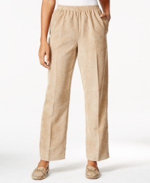 Alfred Dunner Women's Classic Corduroy Proportioned Medium Pant