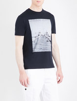 Armani Jeans Photo-print cotton-jersey T-shirt