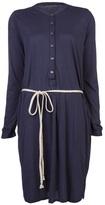Velvet Zia henley dress