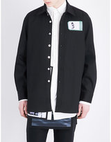 Raf Simons Mapplethorpe-patch Denim Overshirt