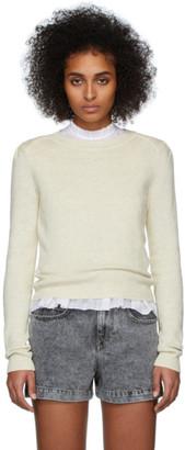 Etoile Isabel Marant Yellow Kleely Sweater