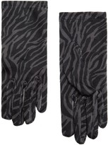 MANGO Animal print gloves