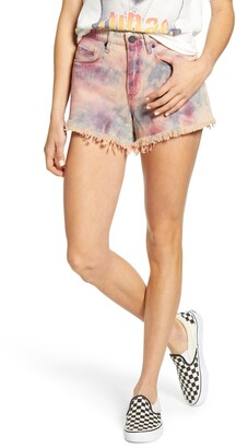 Blank NYC The Barrow Tie Dye Denim Shorts