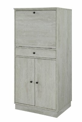 """Wrought Studioâ""""¢ Willford Bar Cabinet Wrought Studioa Color: White"""