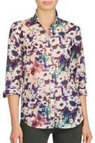 Lauren Ralph Lauren Gwenno Voile Button-Down Shirt
