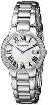 Raymond Weil Women's 5229-STS-00659 Jasmine Analog Display Swiss Quartz Watch