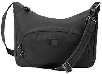 Lewis N. Clark secura anti-theft messenger shoulder bag, onyx
