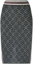 Cecilia Prado knit skirt - women - Acrylic/Lurex/Viscose - P
