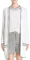 St. John Women's Sport Collection Twill Knit Cardigan