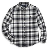 Ralph Lauren Toddler's & Little Boy's Plaid Shirt
