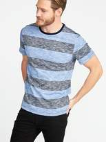 Old Navy Soft-Washed Perfect-Fit Striped Tee for Men