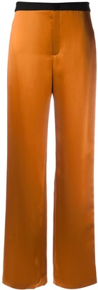 Lanvin Two Tone Relaxed Fit Trousers