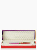 Kate Spade Thoughts on her sleeve ballpoint pen
