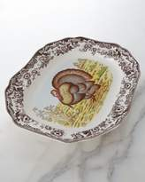 "Spode Woodland Turkey 19"" Platter"