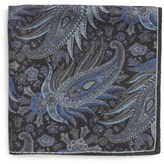 Robert Talbott Paisley Pocket Square