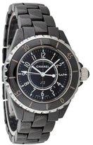 Chanel Black J12 Quartz Watch