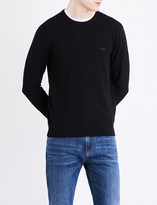Armani Jeans Crewneck cotton-blend jumper
