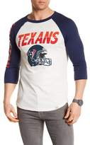 Junk Food Clothing Houston Texans Raglan Tee