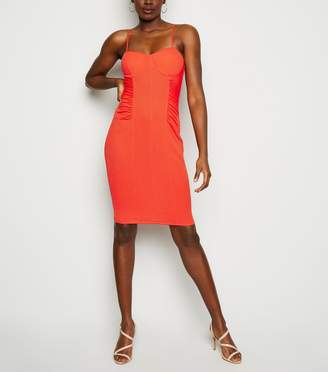 New Look Ruched Side Mini Bodycon Dress